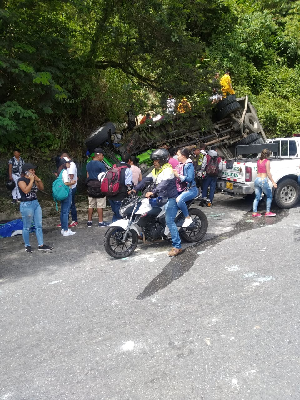 Accidente en Cauca